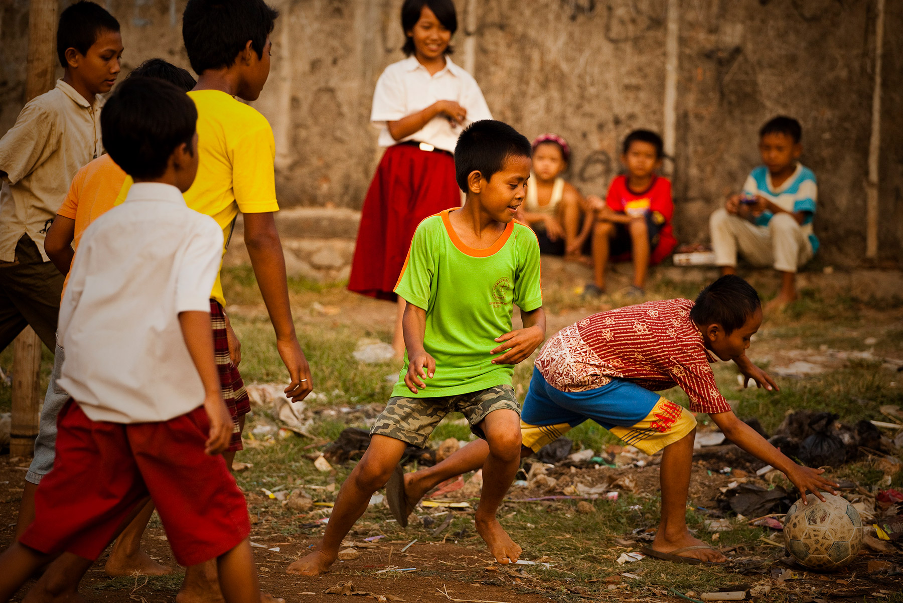 Indonesia Child Play